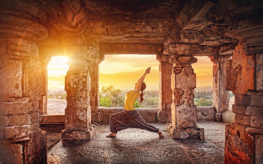 Joga - put od hrama do teretane